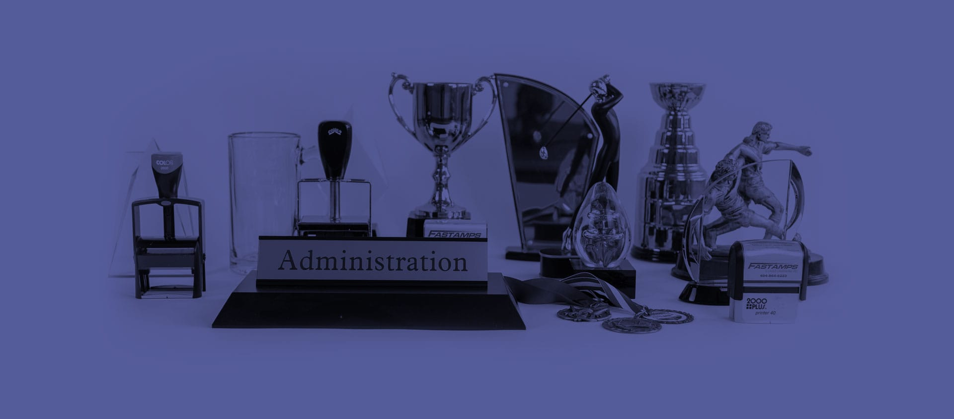Custom signs, stamps, trophies and awards in Abbotsford